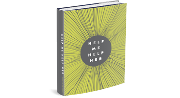 image of book written by motivational speaker jessica yaffa - help me, help her