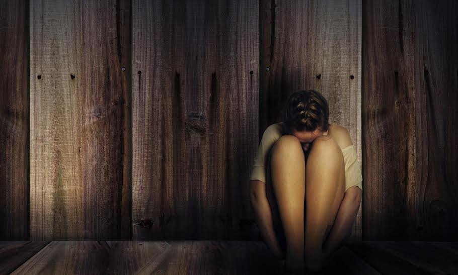 image of abused woman signifying importance of domestic violence training