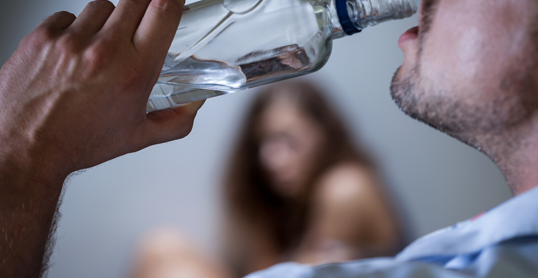 domestic violence after drinking alcohol